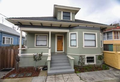 2446 San Jose Ave, Alameda, California 94501, 2 Bedrooms Bedrooms, ,1 BathroomBathrooms,Single Family,Past Sales,San Jose,1213